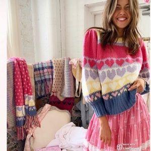 LoveShackFancy Shirelle Pullover Sweater XS